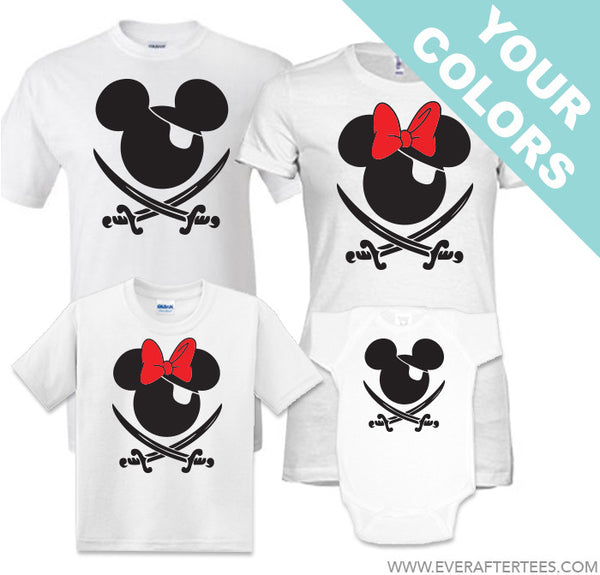 $15 Tees - Disney Cruise Pirate Night Shirts