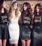 Bridal Squad . Squad T-Shirts . Bridal Squad Tanks. Bachelorette Tanks .