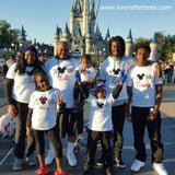 Discounted - The ORIGINAL 2020 or 2021 New Year Mickey Tees . Matching Disney T-shirts .