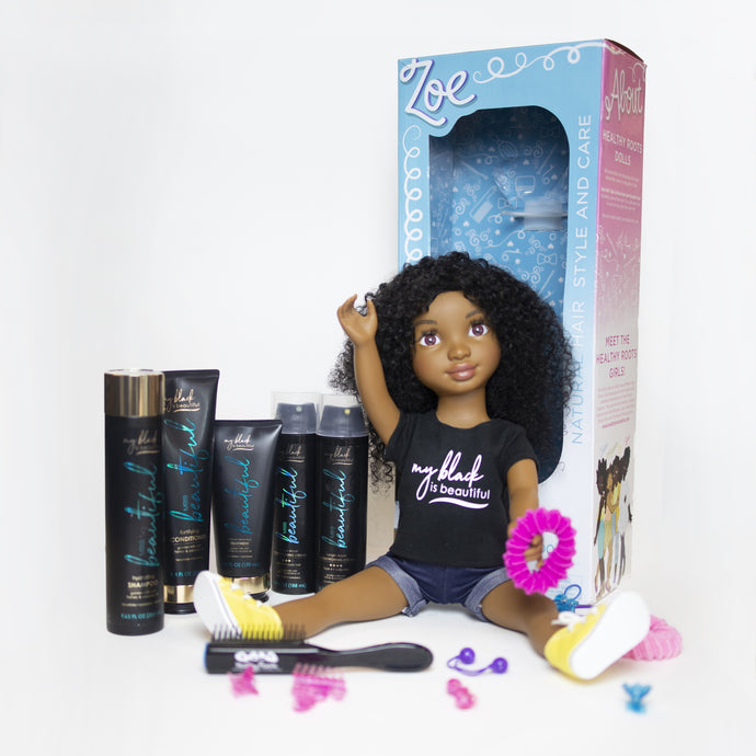 Limited Edition Healthy Roots Doll x MBIB Bundle