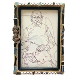 DOG LOVERS COLLECTION. Stained Glass Mosaics and Frame. Pet Lovers. Man's Best Friend.. Gag Gifts.