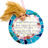 FUNNY GAG GIFTS Stained Glass Mosaic Inspirational Motivational Quotes Affirmations. Birthday Gifts. Housewarming Gifts. Barbie Dolls.