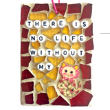 PET CAT LOVERS. Stained Glass Mosaic Ornaments. Inspirational Quotes Affirmations. Gag Gifts.
