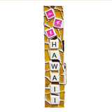 HAWAII GIFT MOSAIC. Large Clothespin. Triathlon.  Souvenir. Made in Hawaii.