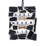 PET DOG Puppy LOVERS. Man's Best Friend. Stained Glass Mosaic Ornaments. Inspirational Quotes Affirmations.