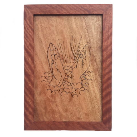 HAWAII WOOD BURNING. Healing Hands. Made in Hawaii. Hawaii Gifts Souvenirs.