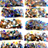 DIY MOSAIC KITS Stained Glass with Instructions and On-line Video Tutorial. Stained Glass. Gems. Pebbles. Buttons. Beads. Alphabet Letters.