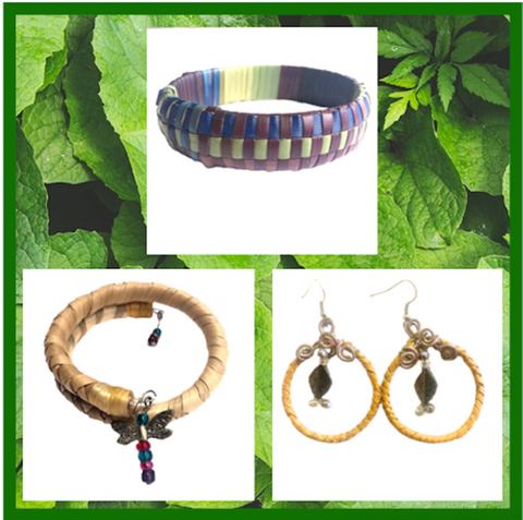 LAUHALA JEWELRY COLLECTION. Bracelets. Earrings. Jewelry. Made in Hawaii. Pandanus Tree. Lauhala Weaving.