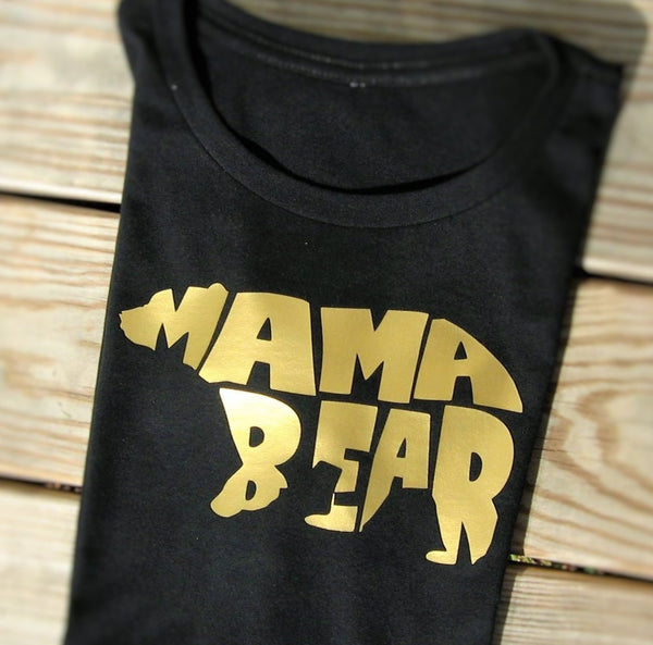 Mama Bear T-Shirt, Momma Bear T-Shirt, Gift for Mom, Baby Shower Gift. - Fun Trendy Tees