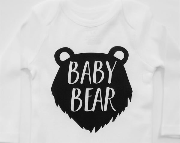 Baby bear bodysuit. - Fun Trendy Tees