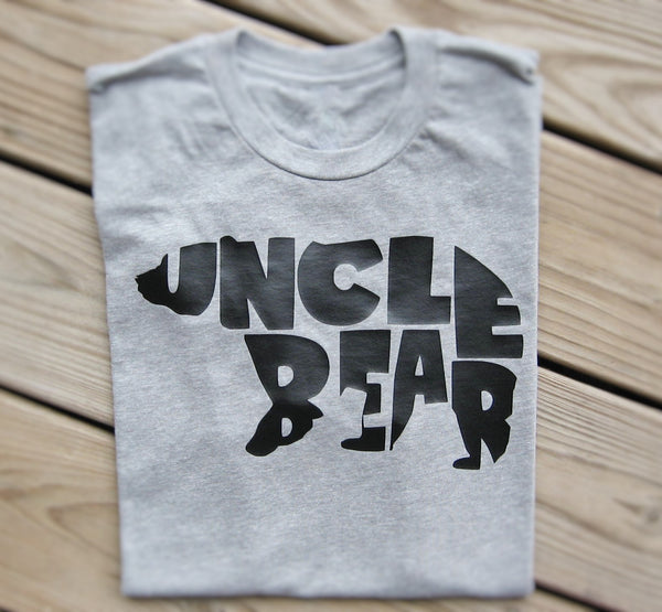 Uncle Bear T-Shirt - Fun Trendy Tees
