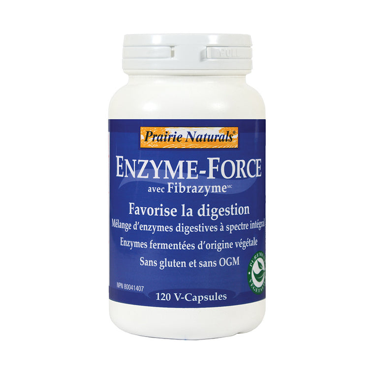 Prairie Naturals Enzyme-Force with FibraZyme™ - 消化酶