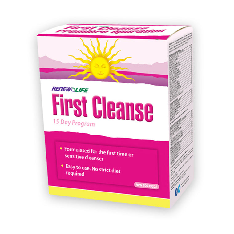 Renew Life First Cleanse Kit - 15 Days - MapleVita.net