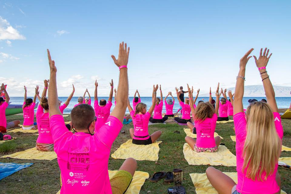 Stand up for the cure 2016 yoga