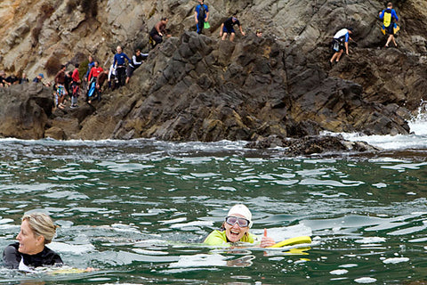 Aquathon on the rocks