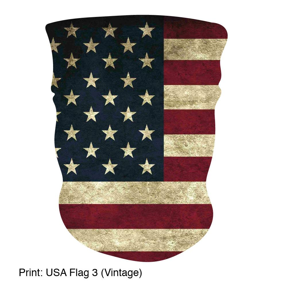 Multifunction Gaiter, Made in USA - Patriotic Collection