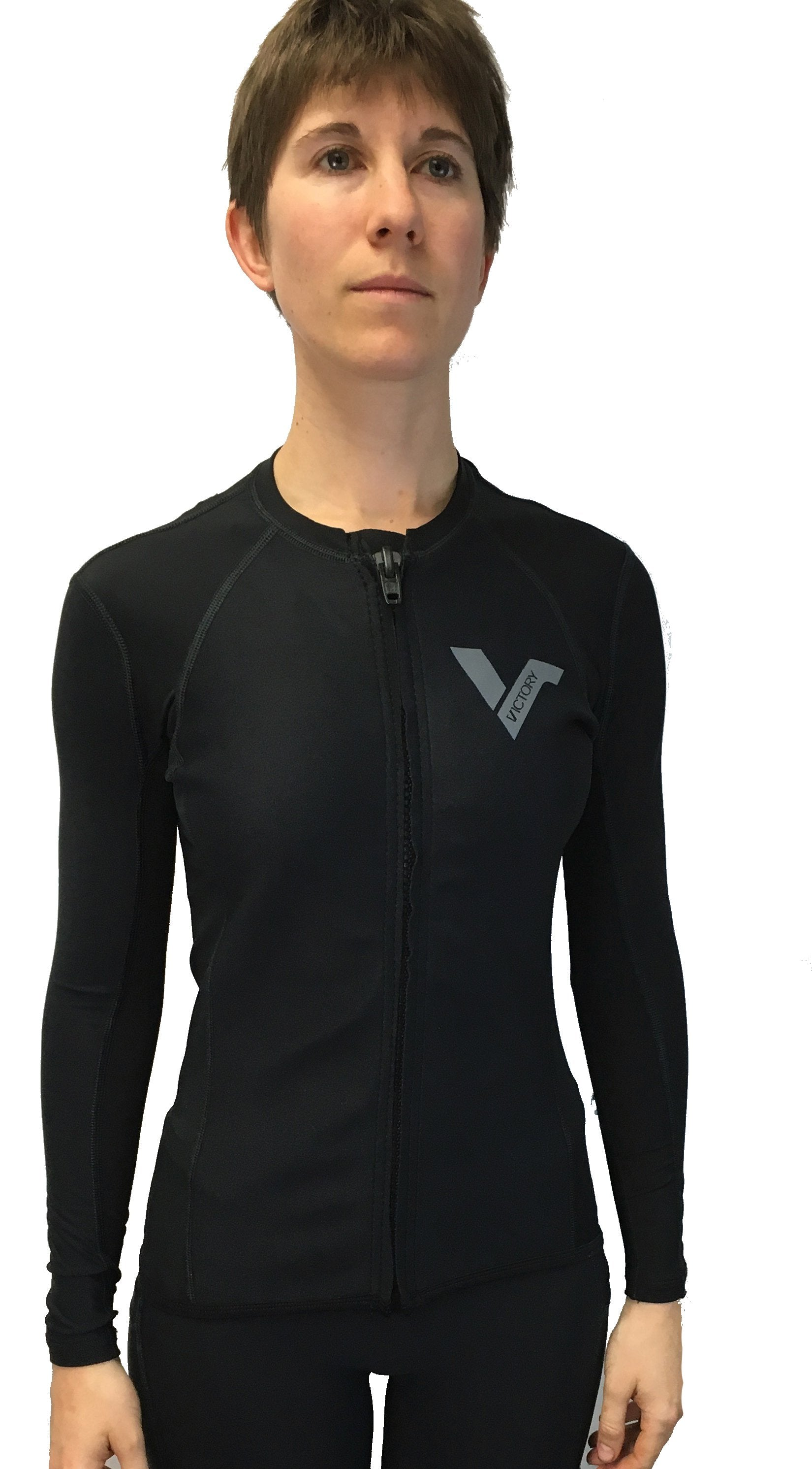 Women's Neoprene Zipper Jacket