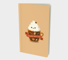 Load image into Gallery viewer, Pumpkin Spice Latte Notebook