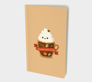 Pumpkin Spice Latte Notebook