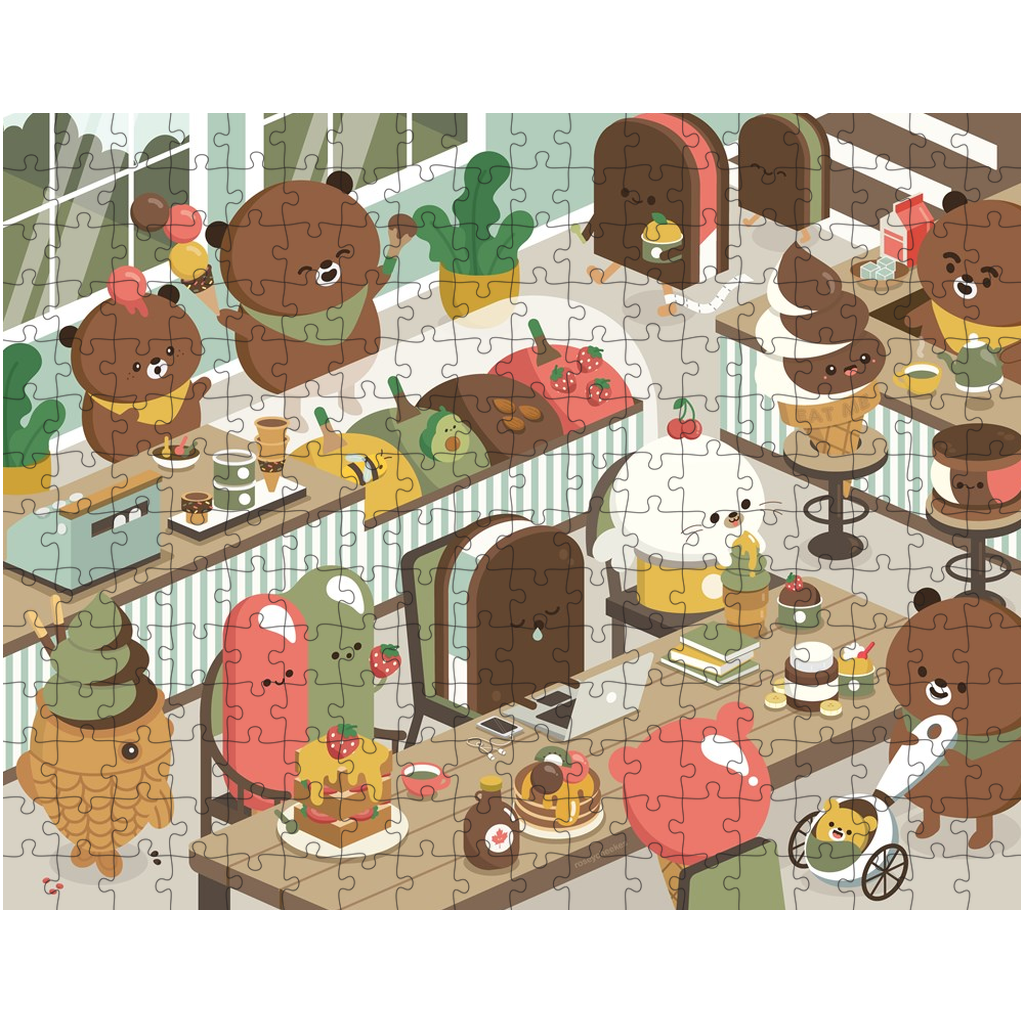 Beary Ice Cream Parlour Puzzle