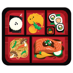 Bento Box Mouse Pad