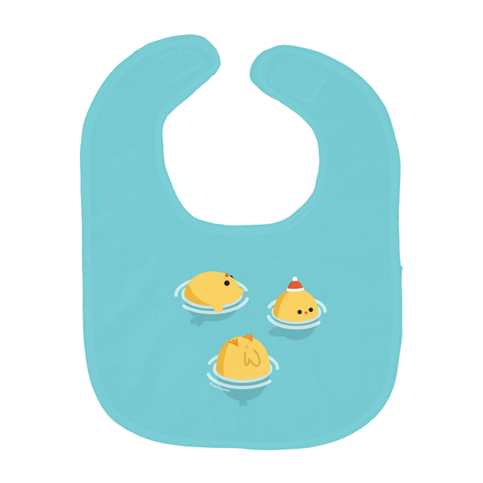 Floating Ducks Baby Bib