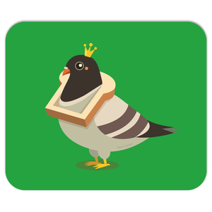 King Pigeon Mouse Pad