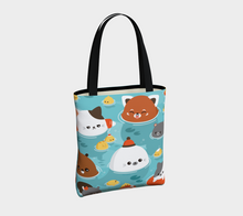 Load image into Gallery viewer, Ocean of Cuteness Tote - Vegan Leather