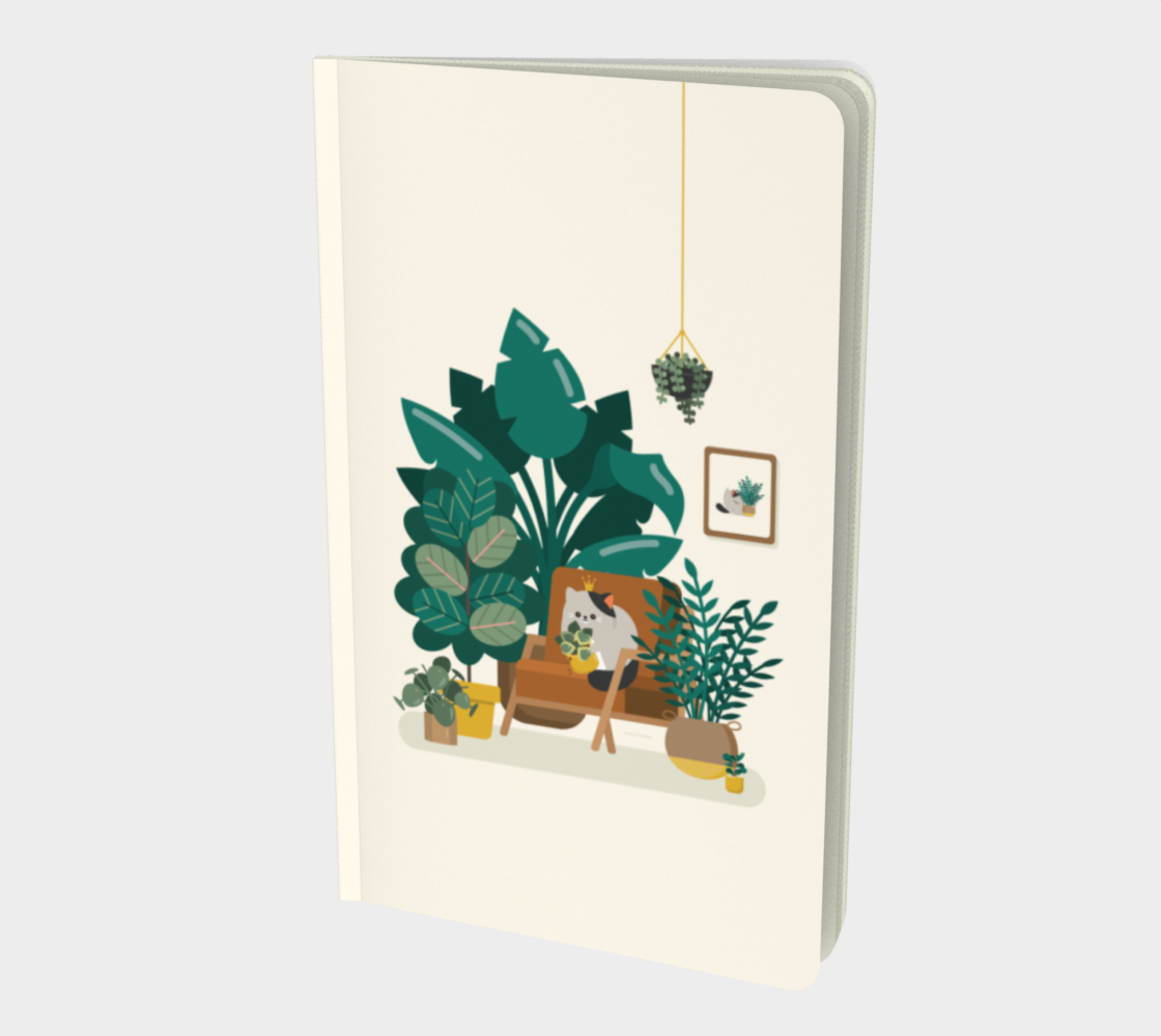 Cat x Ferns Notebook