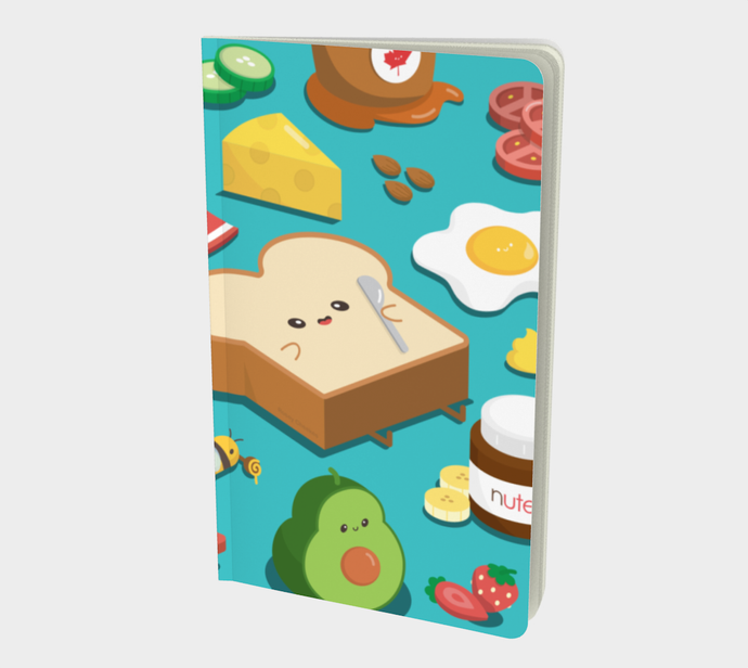 Toast Toppings Notebook