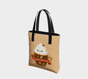 Pumpkin Spice Latte Tote - Basic