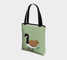 Load image into Gallery viewer, Angry Goose Tote - Vegan Leather