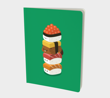 Load image into Gallery viewer, Sushi Stack Large Notebook