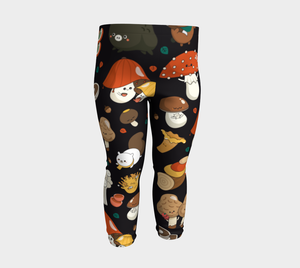 Baby Leggings - Mushrooms
