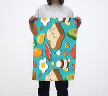 Load image into Gallery viewer, Tea Towel - Breakfast Time