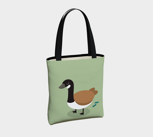 Angry Goose Tote - Vegan Leather