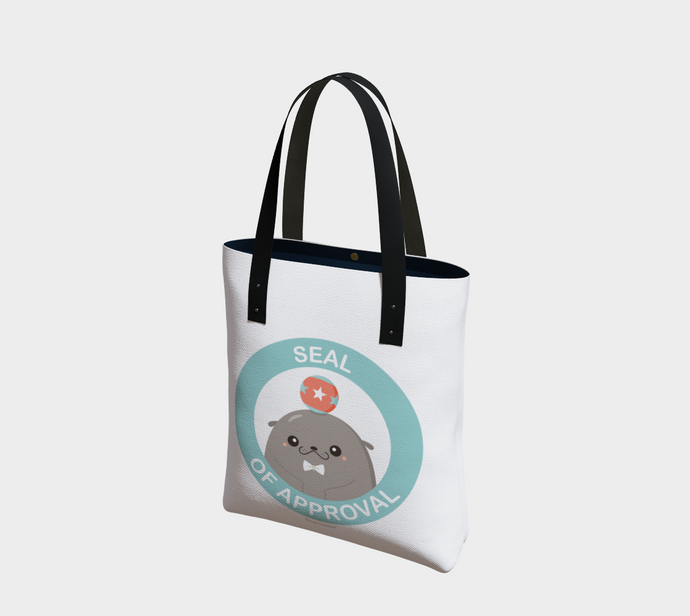 Seal of Approval Tote - Vegan Leather