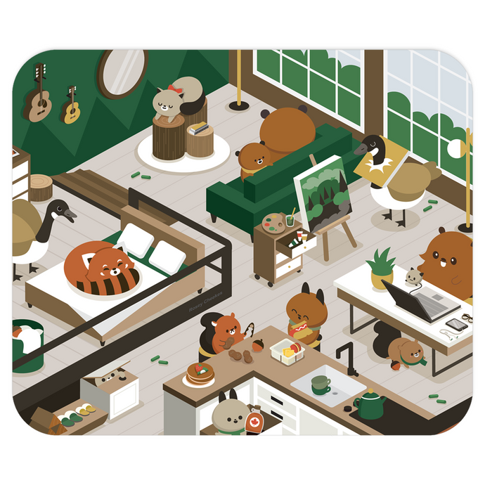 Animal Loft Mouse Pad