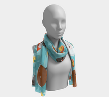 Load image into Gallery viewer, Ocean of Cuteness Scarf