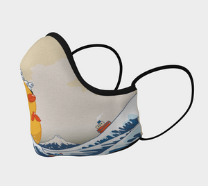 Mask - The Great Wave off Kanagawa