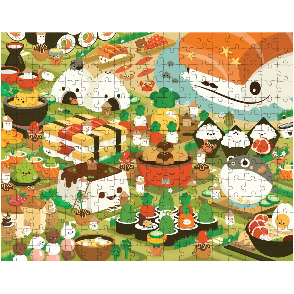 Sushi Town Puzzle