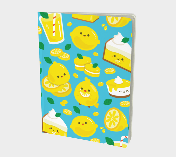 Lemons Large Notebook