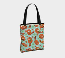 Load image into Gallery viewer, Red Panda Tote - Vegan Leather