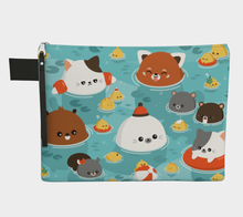 Load image into Gallery viewer, Ocean Full of Cuteness Flat Pouch
