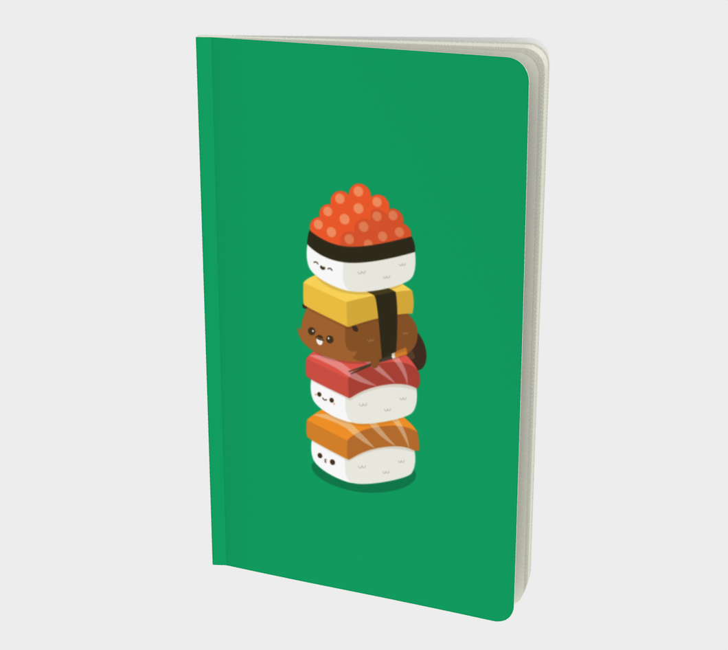 Sushi Stack Notebook