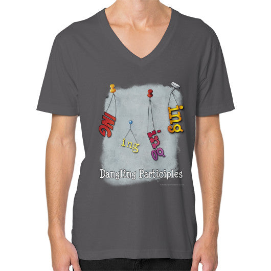 V-Neck (on man) Asphalt WordPlay T-Shirts