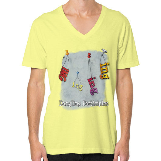V-Neck (on man) Lemon WordPlay T-Shirts