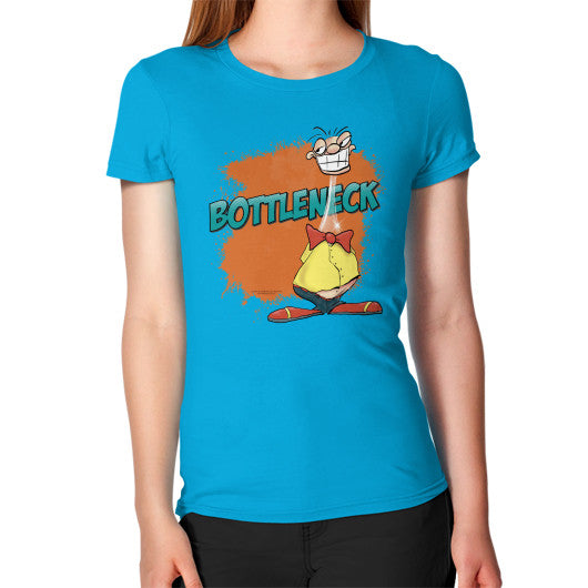 Women's T-Shirt Teal WordPlay T-Shirts