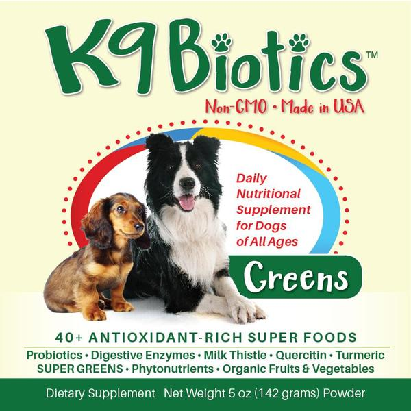 K9Biotics works to alleviate the allergies your dog is suffering from on their bodies!