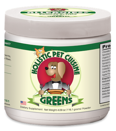 My dog has skin issues from allergies. What will Holistic Pet Cuisine Greens do for your dog?